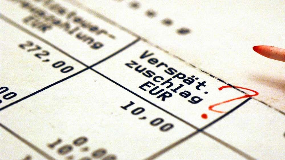 Vorsicht Kostenfalle So Wehren Sie Sich Gegen Mahngebühren Geld