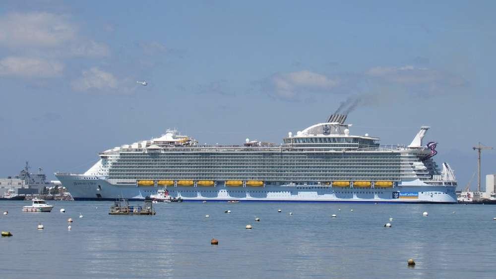 Größtes Kreuzfahrtschiff