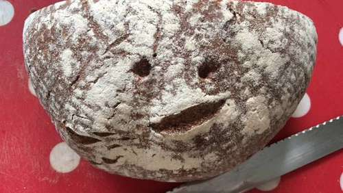 Dieses Brot macht froh