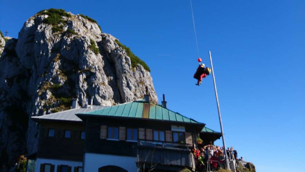 Klettersteig Tegernseer Hütte : Absturz vom buchstein dachauer kracht in tegernseer hütte