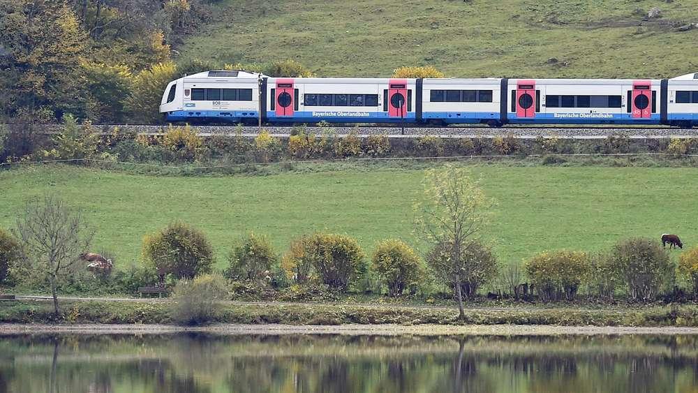 Schon 2018 Könnte Ein Erster Elektro Zug An Den Tegernsee