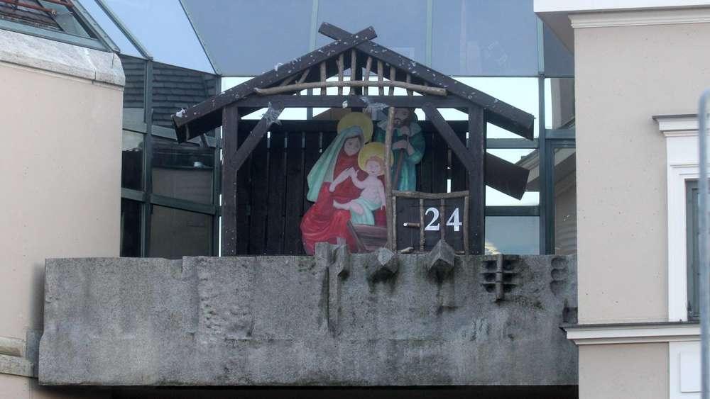 Dachau Weihnachtsmarkt.Am Rathausbalkon In Dachau Ist Schon Weihnachten Dachau