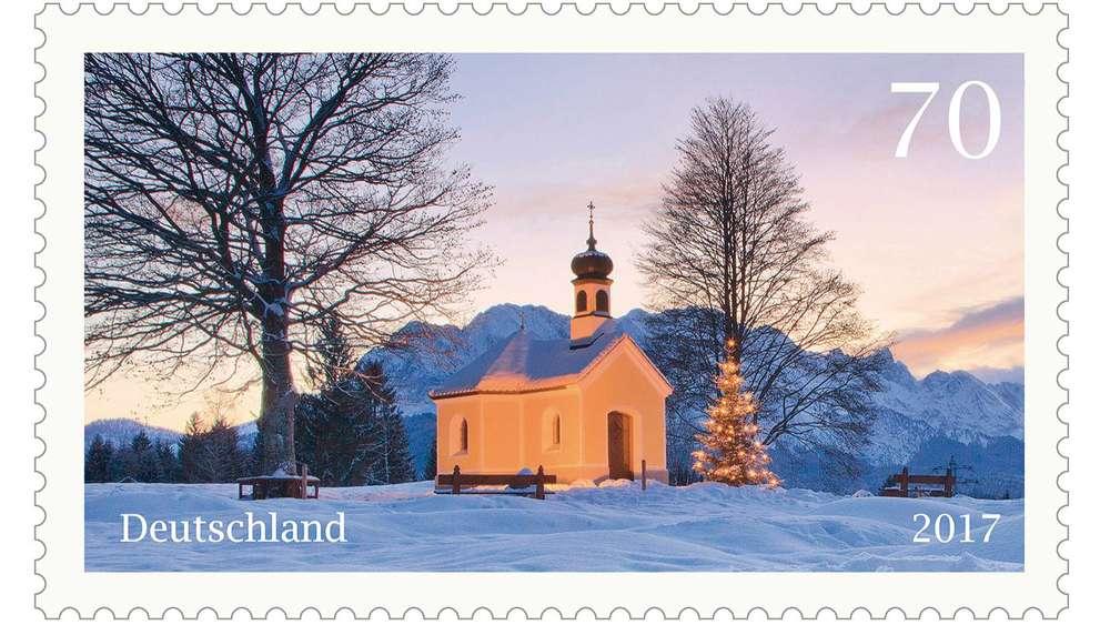 Deutsche Post präsentiert Sonderbriefmarke zu Weihnachten mit der ...