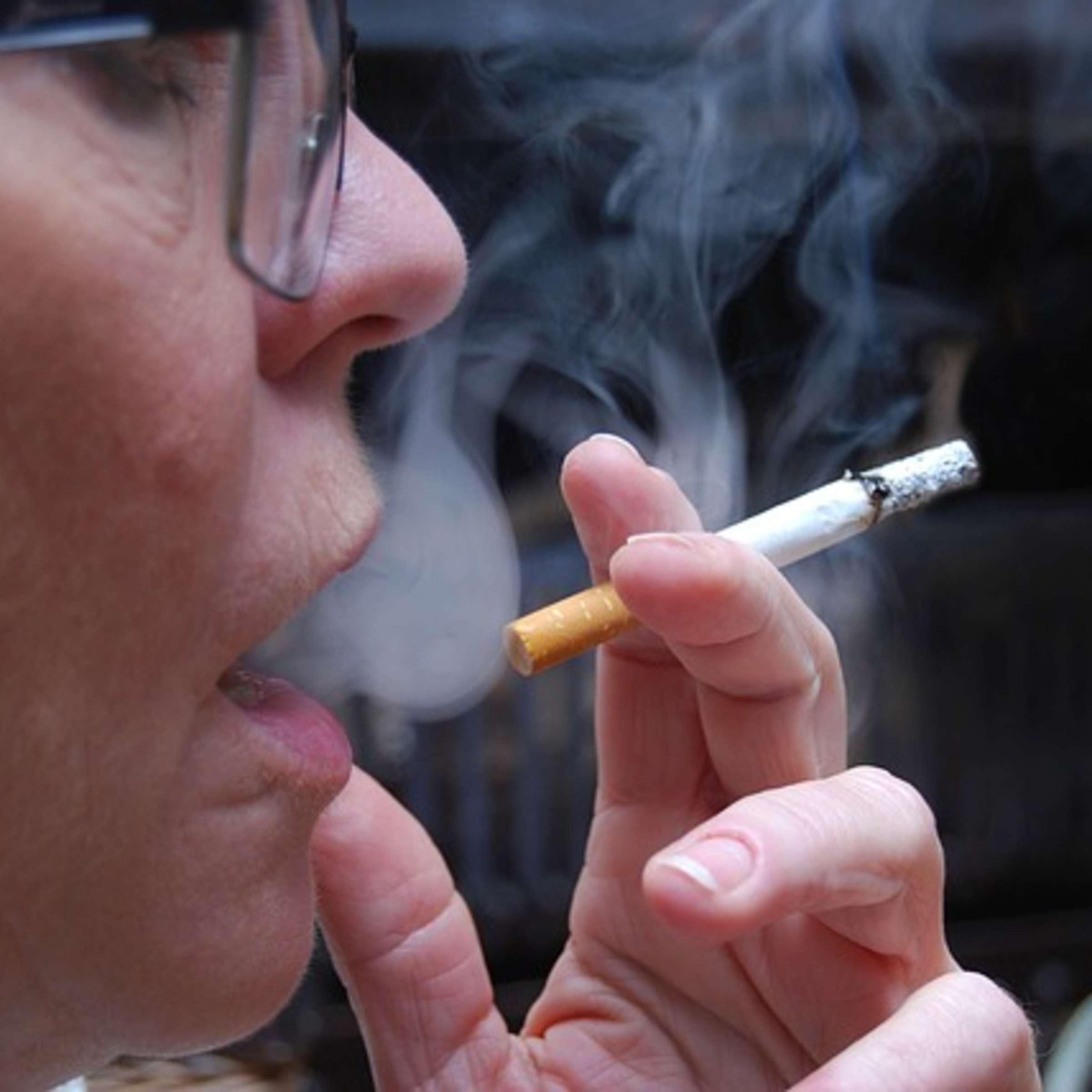 Rauchen und Gewichtsverlust