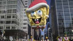 Traditionelle Thanksgiving-Parade in New York
