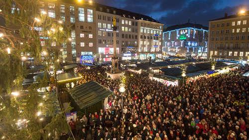 München Weihnachtsmarkt.Weihnachtsmarkt München Themenseite
