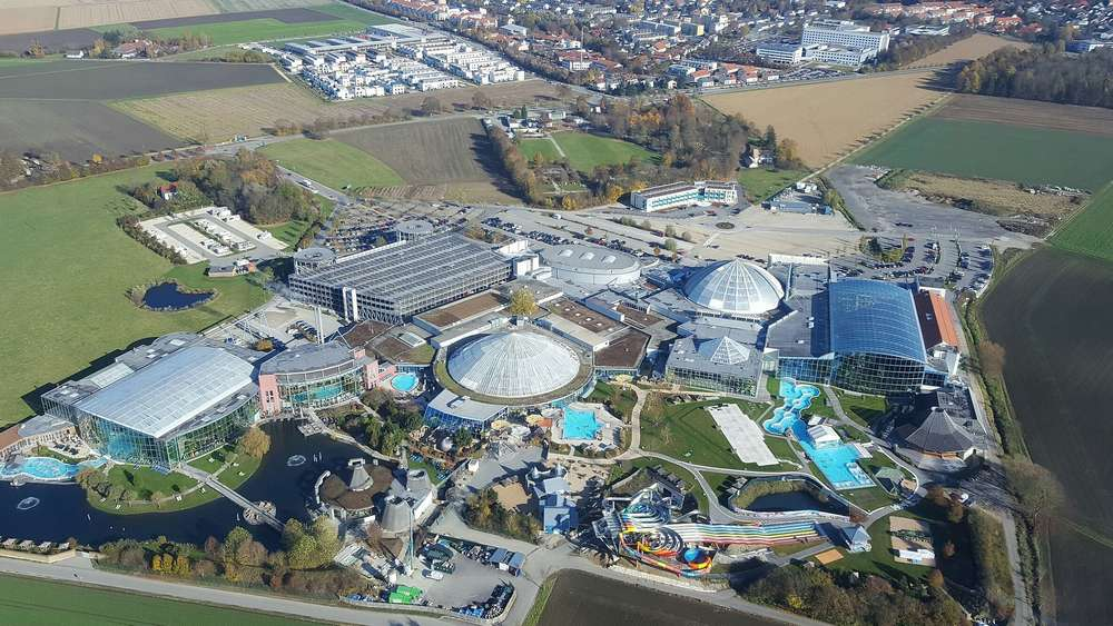 Wunds Vision: Die Therme Erding.