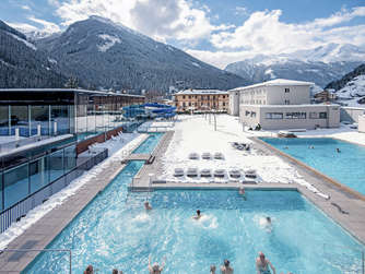 Die Felsentherme in Bad Gastein.