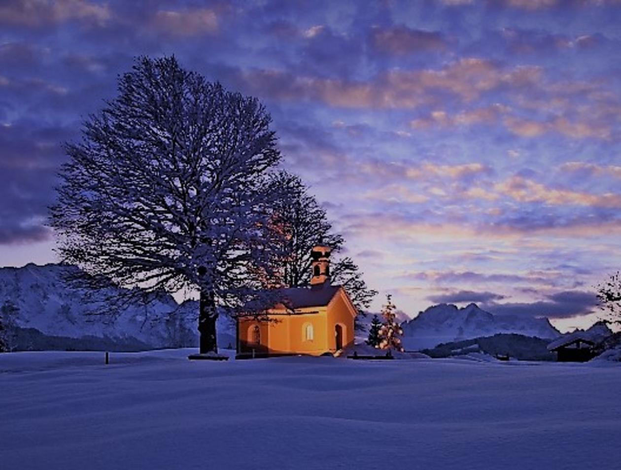 Tolle Weihnachtsbilder.Leser Senden Ihr Schönstes Weihnachtsbild Garmisch Partenkirchen