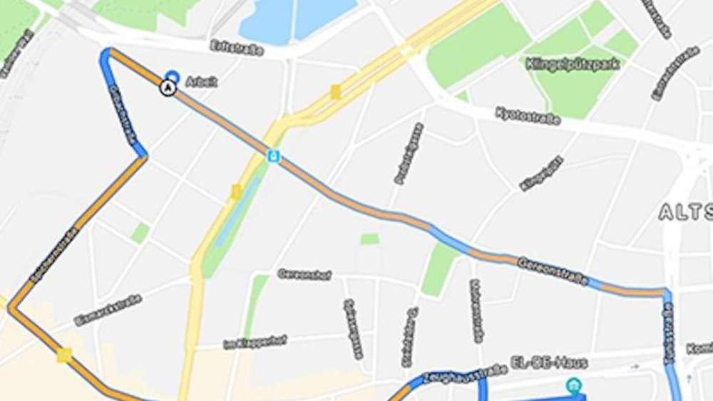 Routenplaner: Google Maps mit Zwischenstationen | Multimedia on