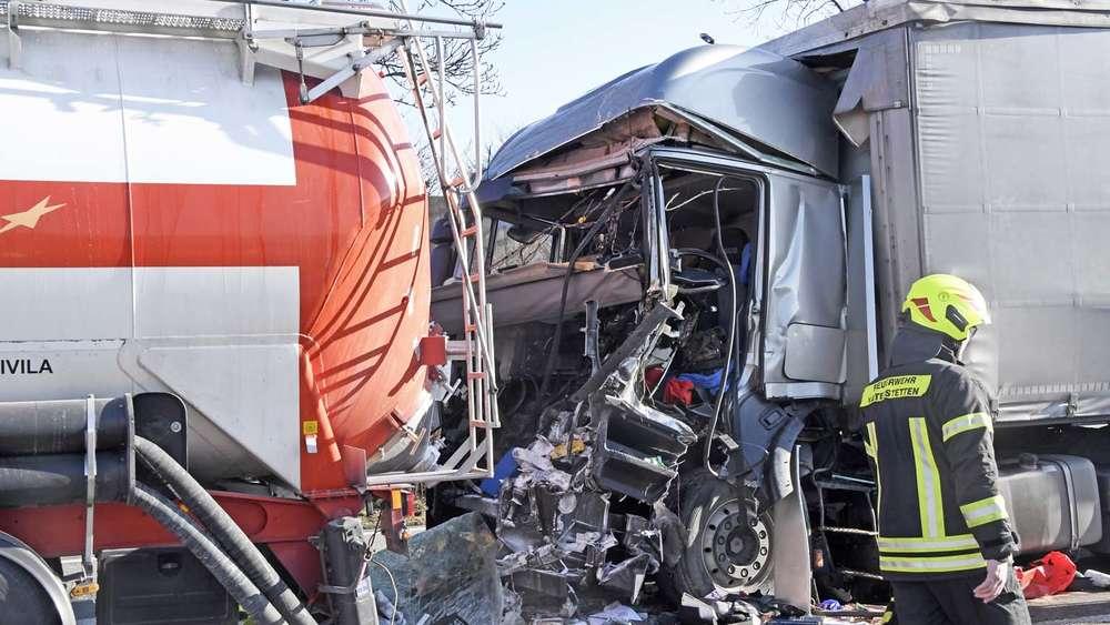 Unfall A99 Gestern