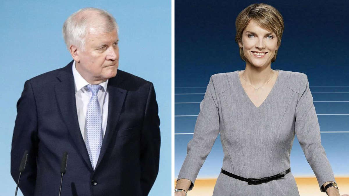 Zdf moderatorin slomka seehofer beschwerte sich beim chef politik for Zdf heute moderatorin