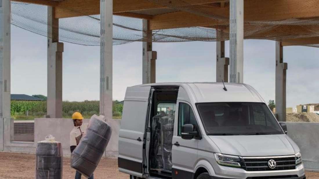 Rücken schonen beim harten Einsatz: VW bietet Ergonomiesitze auch in einigen seiner Nutzfahrzeuge an. Foto: AGR/Volkswagen/dpa-tmn