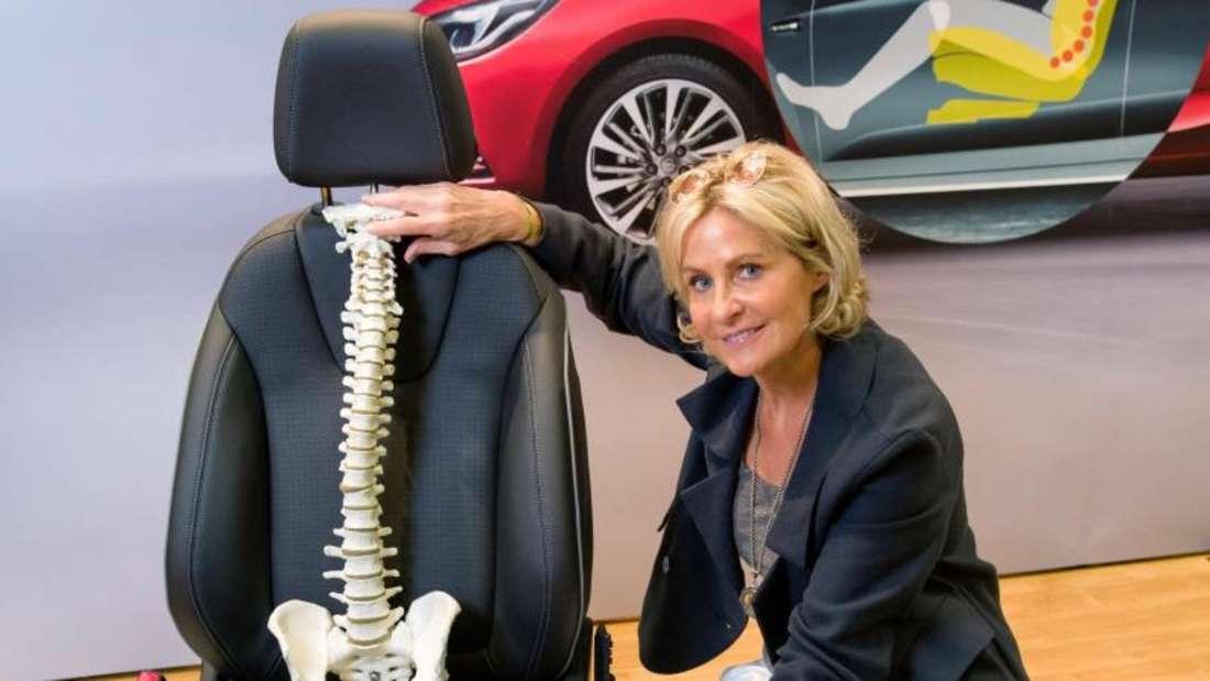 Rückenfreundlich: Auch Massenhersteller wie Opel setzen seit langem auf besonders rückenschonende Autositze. Der erste AGR-zertifizierte Sitz wurde 2003 im Opel Signum eingebaut. Foto:AGR/Opel/dpa-tmn