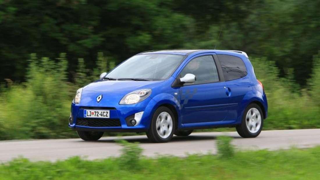 Twingo zum Zweiten: Die zweite Generation des Kleinwagens startete Renault 2007. Beim Tüv durchwachsen, vergibt der ADAC in der Regel gute Noten bei der Pannenstatistik. Foto: Renault/dpa-tmn