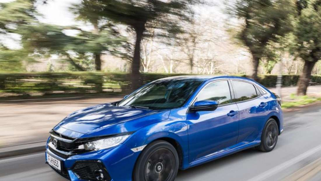 Japanischer Selbstzünder: Honda bietet den Civic jetzt auch wieder als Diesel an. Foto: Paul Harmer/Honda/dpa-tmn