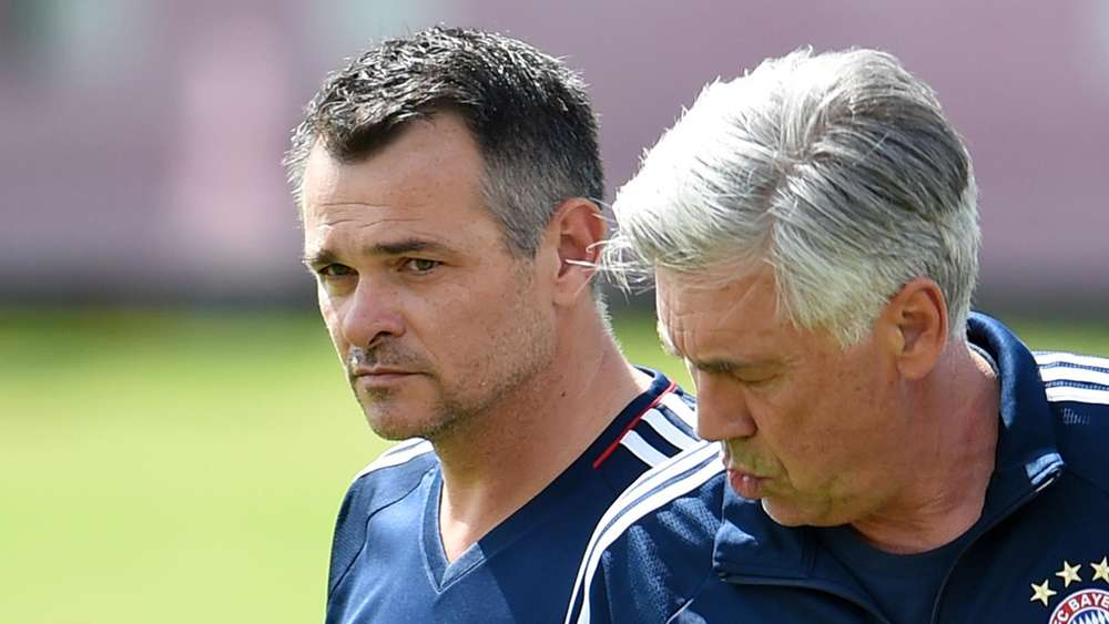 Willy Sagnol war Co-Trainer unter Carlo Ancelotti.