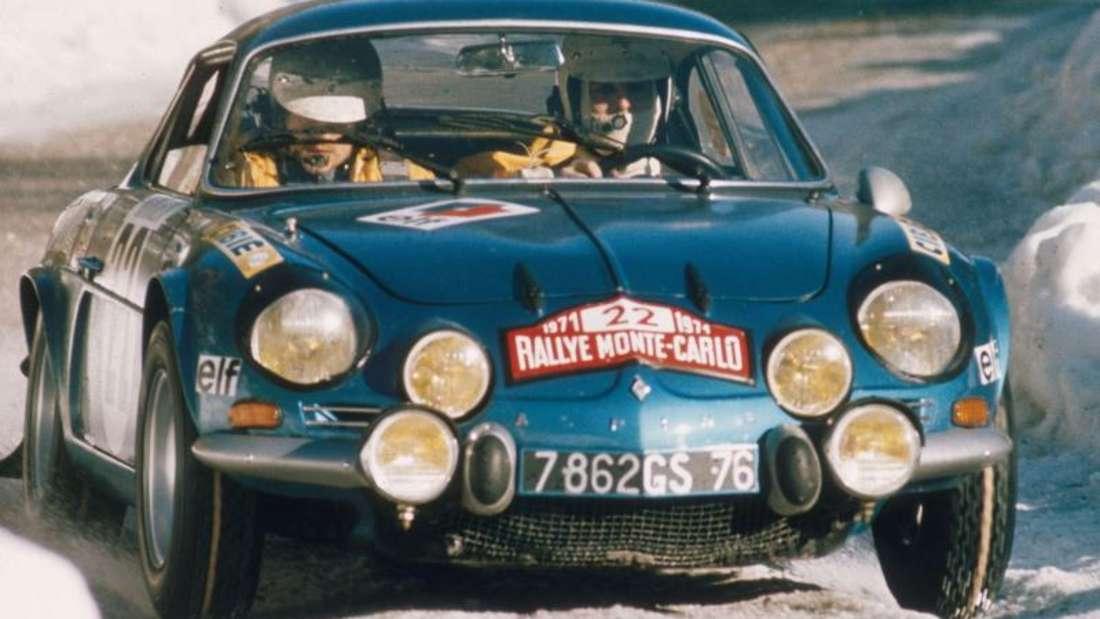 Das Design des neuen Coupés ist angelehnt an das Original aus den 1960er Jahren. Foto: Renault/dpa
