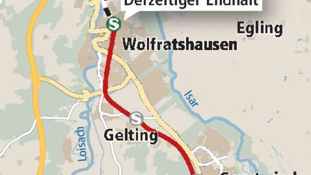 S7 Verlängerung Nach Geretsried Projekt Verzögert Sich
