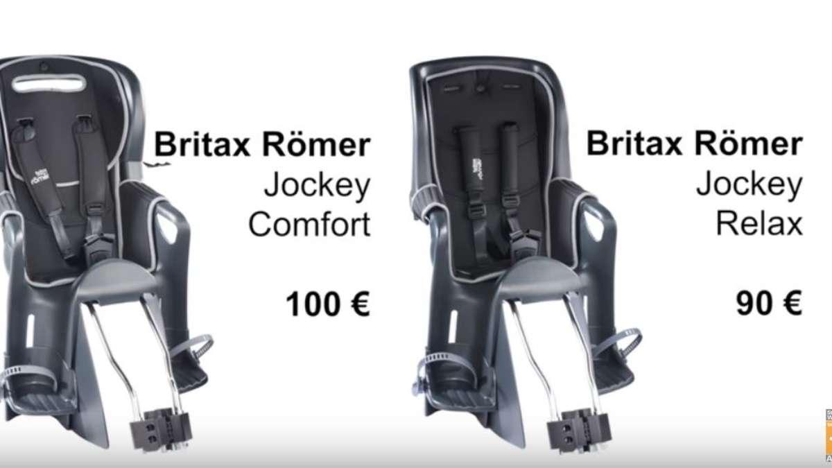 zwei sehr beliebte fahrradsitze f r kinder sind mangelhaft urteilt stiftung warentest. Black Bedroom Furniture Sets. Home Design Ideas