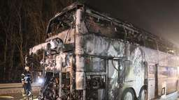 Bus in Brand geraten