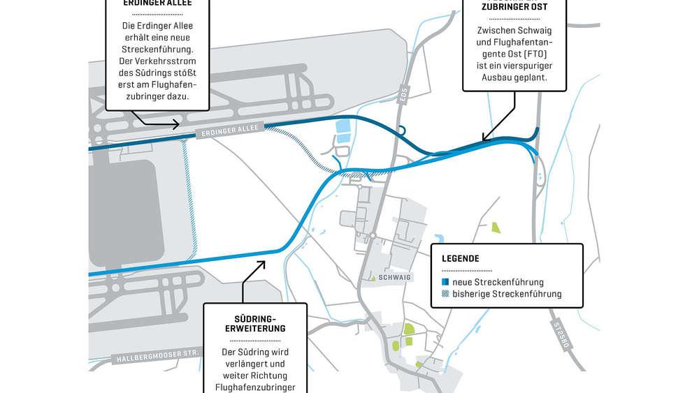 FMG plant großen Straßenausbau: Mit Staus am Flughafen soll bald on