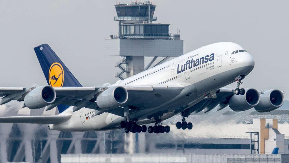 Flughafen München A380 Von Lufthansa Werden Künftig In