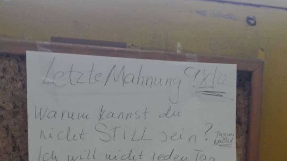 Wütender Münchner Erteilt Letzte Mahnung An Nachbarn Wohnen