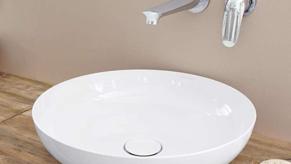 Waschschale ersetzt Waschbecken im Badezimmer | Wohnen