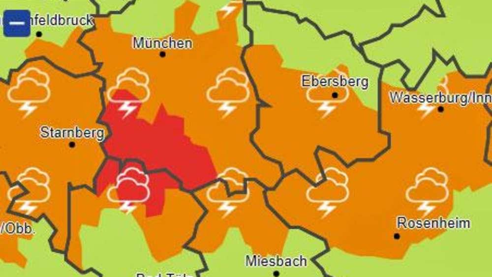 Wetter Bayern Unwetterwarnungen Für Die Erste Woche Der