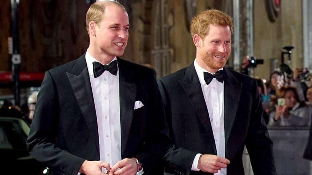 Harry heiratet und William ist der Trauzeuge. Foto: Matt Crossick/PA Wire