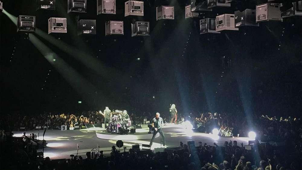 Metallica In Der Olympiahalle München Konzertkritik Irrwitzige