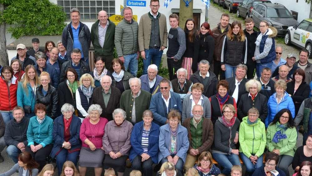Ein Dorf Halt Zusammen 40 Maifeier In Machtenstein Dachau