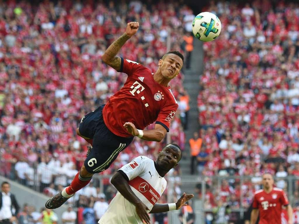 Fc Bayern Munchen Gegen Vfb Stuttgart Bilder Und Noten Fc Bayern