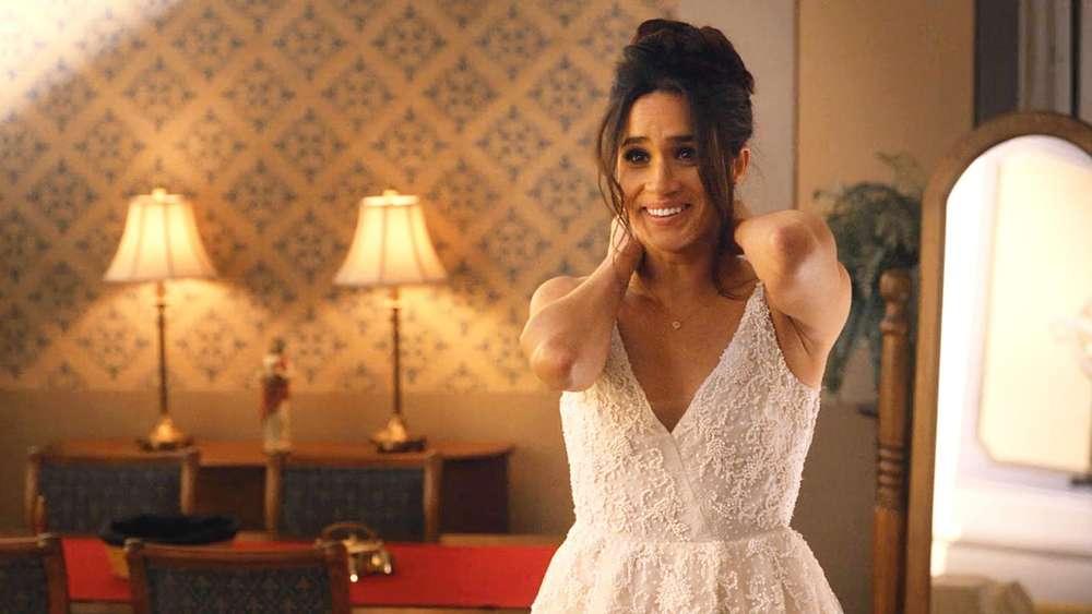 Meghan im Brautkleid: So schön sieht die Braut im Kleid aus - Prinz ...
