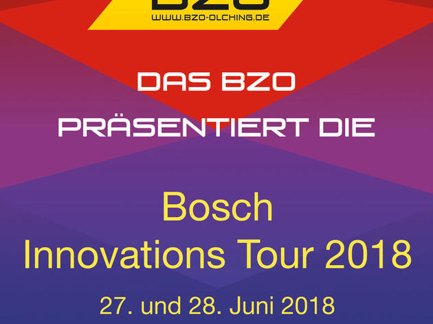 Gewinnen Sie tolle Preise bei der Bosch Innovations Tour 2018 in Olching