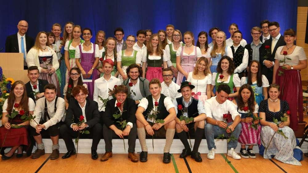 Abiturfeier am Gabriel-von-Seidl-Gymnasium   Bad Tölz