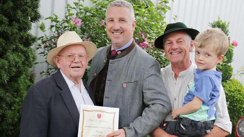 Steinpilz König Feiert 90 Geburtstag Kirchdorf An Der Amper