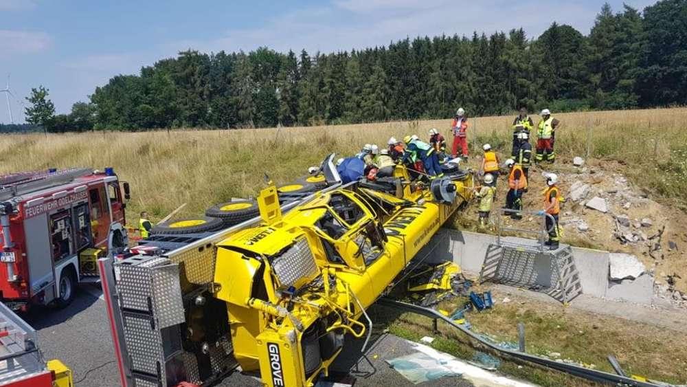 Unfall A8 Sonntag
