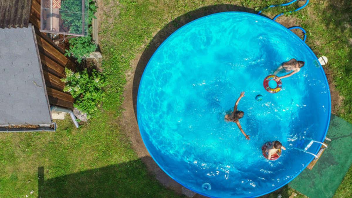 abkühlung im garten fast für lau: diese pools gibt es schon ab 15