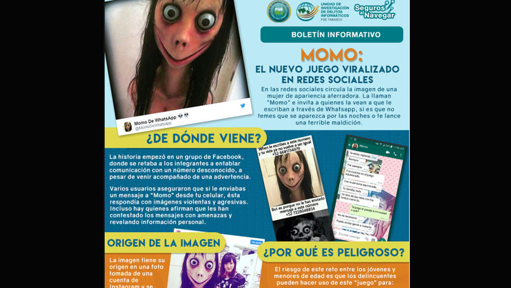Momo Challenge Bei Whatsapp Polizei Warnt Vor Selbstmord Spiel