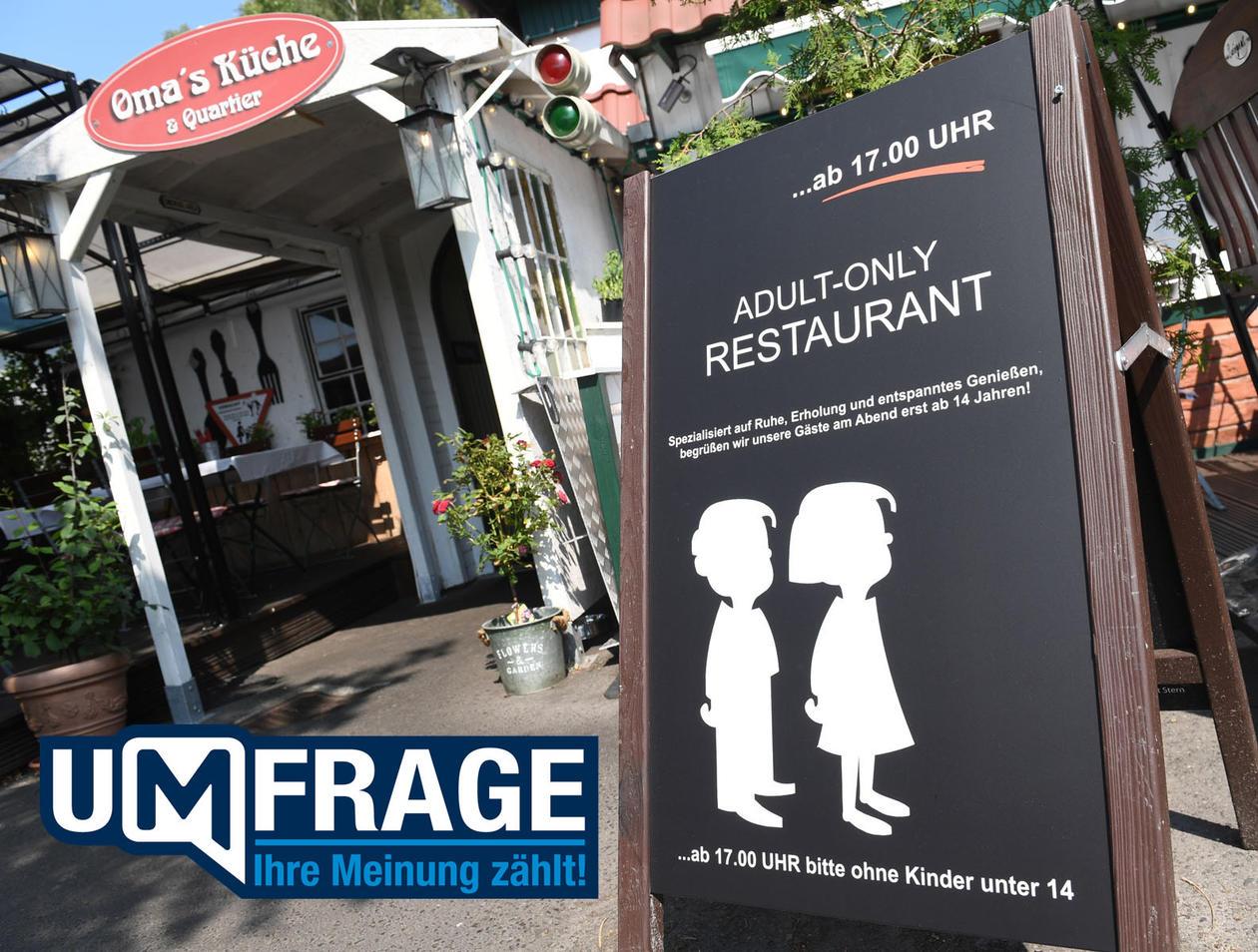 Restaurant auf Ostseeinsel Rügen: Abends keine Kinder in ...
