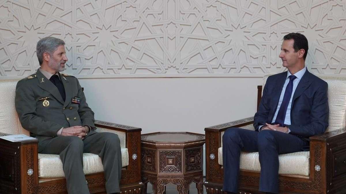 Irans Verteidigungsminister sagt Syrien Beteiligung an Wiederaufbau zu