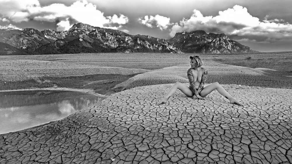 Die Welt In Schwarz Weiß: Für Fotografin Nora Cordova Bedeutet Farblos  Nicht Fad | Weilheim