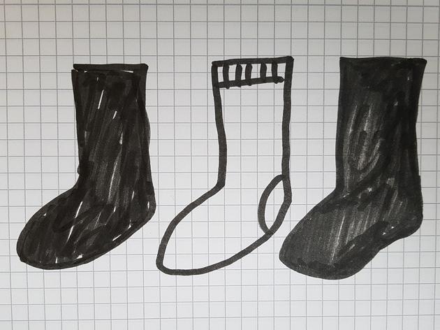 Wer dieses Socken-Rätsel löst, ist ein echtes Logik-Genie