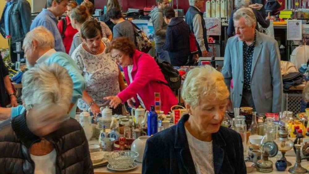 Wohltätigkeits-Markt bringt 12 000 Euro ein | Germering