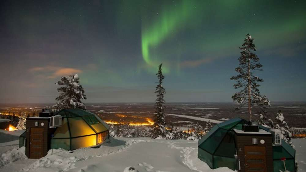 Golden Crown Levi Igloos, Lapland, Finnland
