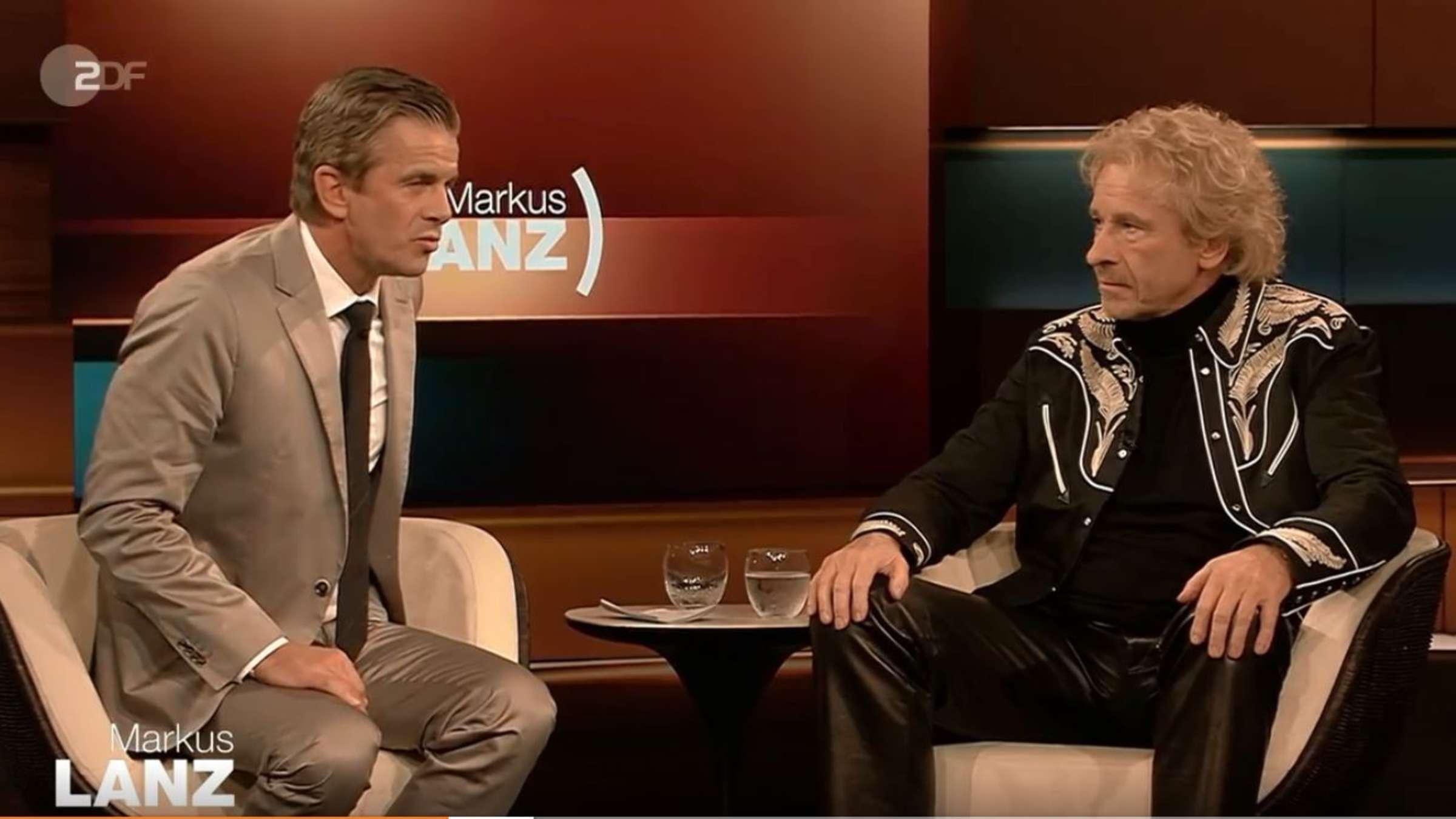 Markus Lanz (ZDF): Thomas Gottschalk attackiert Moderator