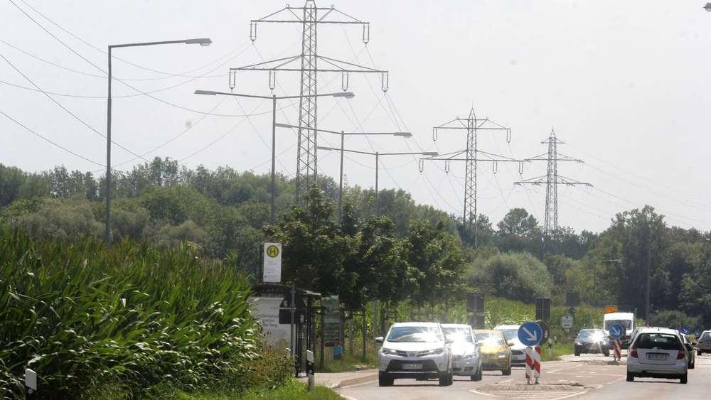 Dachau: Diskussion über Hochspannungsleitung am geplanten Sportpark ...