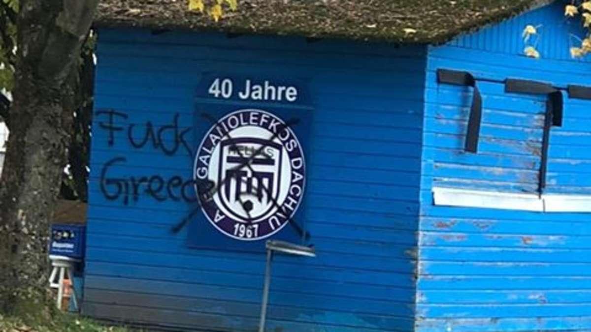 """Fuck Greece"" - Schmierereien schocken AEG Dachau"
